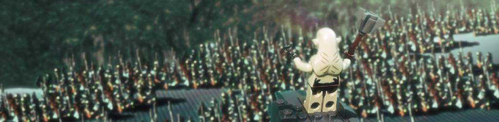 Azog befehligt die Armee der Orks -> Szene aus dem Teaser Trailer des 3. The Hobbit.